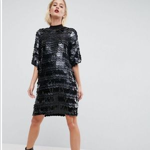 PRICE FIRM!Asos sequined dress